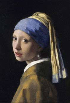 Johannes Vermeer Girl with a Pearl Earring Art Print Poster Poster Print, Johannes Vermeer, Classic Paintings, Old Paintings, Vermeer Paintings, Leaf Silhouette, Crazy Dog Lady, Poster Prints, Art Prints, Poster Poster