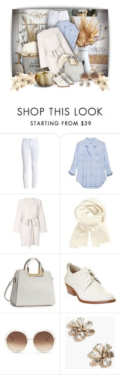 """Belted Cardigan - Contest!"" by sarguo ❤ liked on Polyvore featuring Barbour, Tomas Maier, John Lewis, Frye, Chloé and J.Crew"