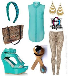 Cleo de Nile (Monster High) inspired outfit