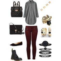 A fashion look from March 2015 featuring Kaporal jeans, Dr. Martens ankle booties and Charlotte Russe flats. Browse and shop related looks.