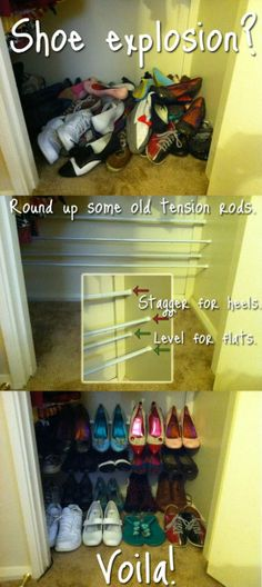 This would be great in my kitchen to help prevent the Shoe-pocolypse that seems the show up every week.