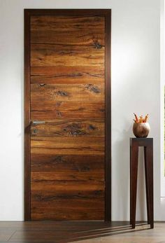 Ideas modern main door design entrance window You are in the right place about wooden doors front Here we offer you the most beautiful pictures about the wooden doors handle you are Flush Door Design, Main Door Design, Wooden Door Design, Entrance Design, Entrance Doors, Entrance Ideas, Main Entrance, Window Design, Modern Wooden Doors