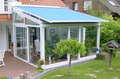 Balkon oder Terrasse Wintergarten aus Glas