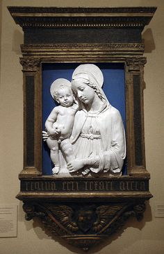 Della Robbia workshops: Madonna and Child (ca. 1490)
