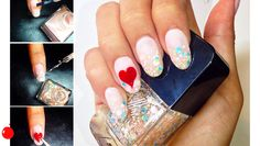 Sephora Glossy / THE TIP-OFF: THE BE-MINE-VALENTINE MANICURE http://theglossy.sephora.com//articles/868