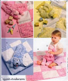 McCalls 5642, Baby Gifts Pattern,Plush Fleece Blankets, Stuffie Duckling Toy, Puppy Toy, Lamb Toy, Stuffed Animals and Baby Blankets Pattern by OnceUponAnHeirloom on Etsy