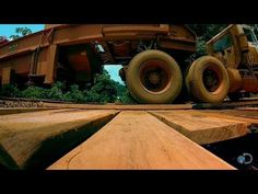 Catch all new episodes of GOLD RUSH Fridays at Todd Hoffman and his crew attempt to drive their massive trommel across an extremely dangerous bridge. Rickety Bridge, Gold Rush, Crosses, Thunder, Live, Drum