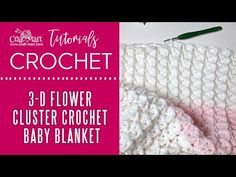Unique crochet baby blanket pattern is created by textured clusters. Most importantly, it is a 1-row repeat. Master this unique pattern quickly! Crochet Baby Blanket Free Pattern, Crochet For Beginners Blanket, Baby Afghan Crochet, Crochet Stitches Patterns, Crochet Cluster Stitch, Chain Stitch, Unique Crochet, Thing 1, 3 D
