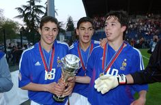 Benzema, Ben Arfa & Nasri at the under-17 level.
