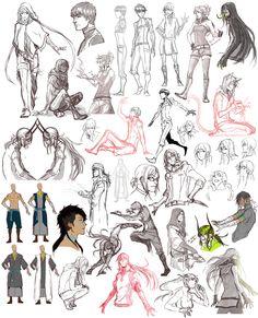 Sketch dump 20 by Namonn on DeviantArt