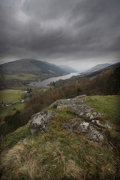 View from Creag an Tuirc, Balquhidder, Scotland by mclarenjk, via Flickr...view of a small portion of Balquhidder Glen from the ancient gathering place of the Clan MacClaren.