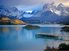 Patagonia And Antarctica. Come Meet Mountains, Fjords, Glaciers, Forests And Steppes One Of The Few Places That Is Still Unchanged.