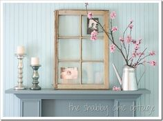 mantel pictures sheek country | not quite finished playing with decorating – but I'm loving ...