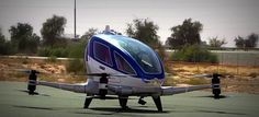 Dubai introducirá taxis voladores y Ciudad de México tendrá servicio de #Uber por helicópteros   Tal parece que la gente de Emiratos Árabes Unidos específicamente en la ciudad de Dubai tiene en mente introducir una nueva modalidad de transporte aéreo utilizando el dron Ehang 184 un aparato autónomo de cuatro rotores que puede transportar a una sola persona de hasta 99 kilos a casi 100 kilómetros por hora sin dificultad alguna. Aparentemente será un servicio diseñado para los empresarios o…