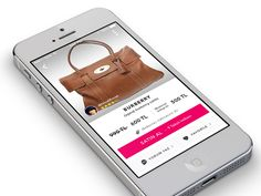 E-commerce App Product Detail  by Hale Koksal