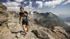 Extreme Mountain Running Race Up 3000 Vertical Meters