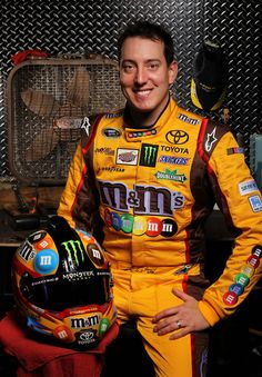 Kyle Busch. Ew. I can't stand his arrogance, or him at all for that matter.not to mention he's ugly as fuck!!!!