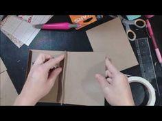 Mini Folio Folder Tutorial - YouTube