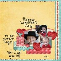 A Project by scrappin-grandma from our Scrapbooking Gallery originally submitted 02/14/12 at 09:12 AM