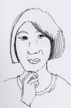 Day #113 - Drawing Portraits / Focussed Practice