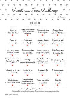Je vous partage mes Challenge Calendars à imprimer en PDF et mes idées de cadeaux de Noël de dernière minute