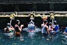 Tirta Empul. Mon itinéraire à Bali : à la découverte de l'île des Dieux #bali
