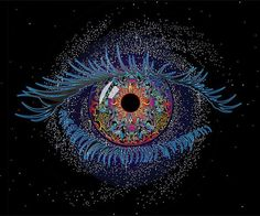 The Artwork of Mike DuBois Pretty Eyes, Cool Eyes, Beautiful Eyes, Eyes Without A Face, Look Into My Eyes, Realistic Eye Drawing, Psy Art, All Seeing Eye, Visionary Art