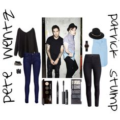 Pete Wentz and Patrick Stump inspired outfits