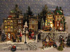 Christmas Village Display Platforms | Dept-56-Snow-Village-Christmas-Display-Platform-Base-Lemax-stackable ...