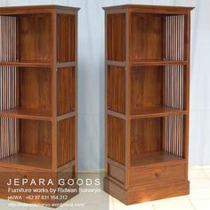 We produce minimalist cabinet rack and bookshelf furniture made of teak at factory price. Best traditional handmade by skilled #craftsman Indonesia. #furniturefactory #rackfurniture #cabinetdisplay #bookshelf #lemaribuku #teakfurniture #minimalistfurniture #teakfactory #indonesiafurniture #contemporaryfurniture