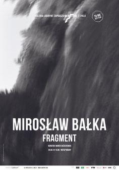 """""""Fragment"""" Mirosław Bałka, wystawa z cyklu """"To nie jest film"""""""