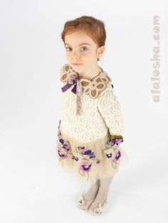 ALALOSHA: VOGUE ENFANTS: I Pinco Pallino AW14/15 girlswear