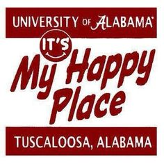 It's my happy place (especially during the fall). RTR!!!