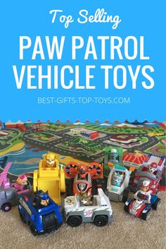 Top Selling Paw Patrol Vehicles & Why Kids LOVE THEM!!  Check it out!