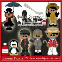 Spoonful of Sugar Clip Art