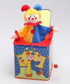 Take a look at this Classic Jack-in-the-Box by Genius Babies on #zulily today!
