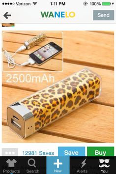 Everbuying Mobile offers high qualit Leopard External Battery Charger  Mobile Power Bank for iPhone 4     iPad   Samsung     LG   MOTO   Nokia    Sony   HTC ... 7dce27a2a3a5