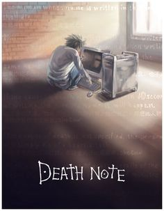 L and MAC - Death Note by SheCow on DeviantArt