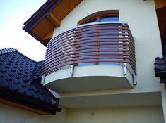 Znalezione obrazy dla zapytania balustrady balkonowe drewniano metalowe