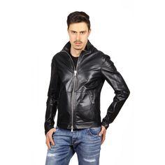 Emporio Armani mens leather jacket R1R20P R1P28 999