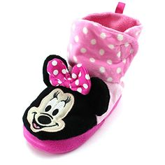 Minnie Mouse Toddler Girls Boot Slippers (S (3/4) M US Toddler) Disney http://www.amazon.com/dp/B014V18SHU/ref=cm_sw_r_pi_dp_D0Okwb1X4N9S5