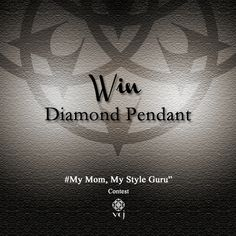 Win diamond pendant for your mom. Details on FB Page: https://www.facebook.com/vikaschains?fref=nf
