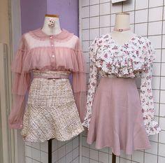 Korean Fashion – How to Dress up Korean Style – Designer Fashion Tips Kawaii Fashion, Cute Fashion, Look Fashion, Girl Fashion, Fashion Outfits, Womens Fashion, Fashion Design, Fashion Trends, Kpop Outfits