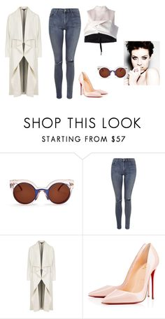 """""""Untitled #342"""" by fashionlifestyle30 ❤ liked on Polyvore featuring Fendi, Topshop, Christian Louboutin, Marni, women's clothing, women's fashion, women, female, woman and misses"""