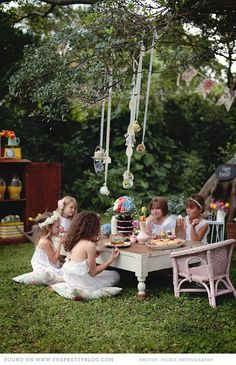 Whimsical Easter Celebration for Little Ones | {Be Inspired, Home & Decor} | The Pretty Blog
