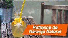 Una alternativa refrescante, fácil y economica es el refresco de naranja natural sin azucares. Hoy te contamos sus propiedades y como hacerlo en 6 minutos.