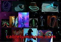 Cable Luminoso en:LABERINTO DE CAMISETAS