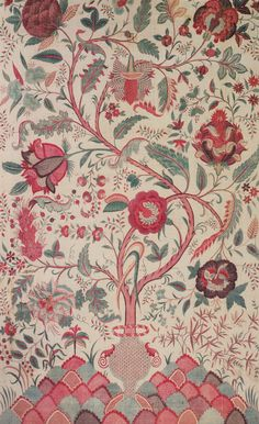 Chintz on Pinterest | Indian Textiles, Indian and 18th Century