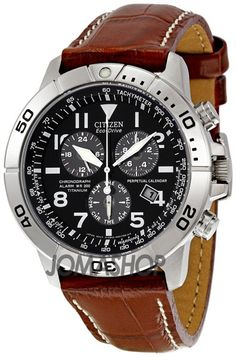 Citizen Eco-Drive Perpetual Calendar Chronograph Mens Watch BL5250-02L (Brown leather coordination) Truly a work of art...