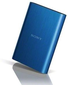 Sony 2 TB External Hard Disk (Blue)
